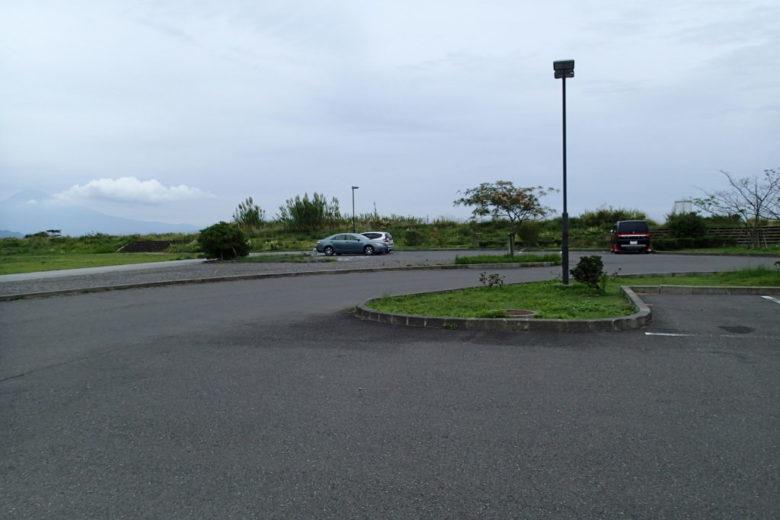 三保 灯台下駐車場