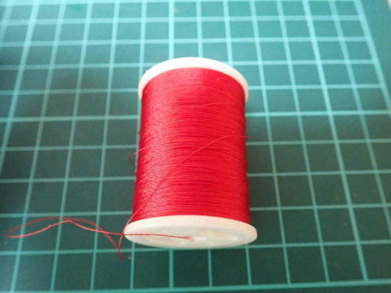 アシストフック自作用セキ糸