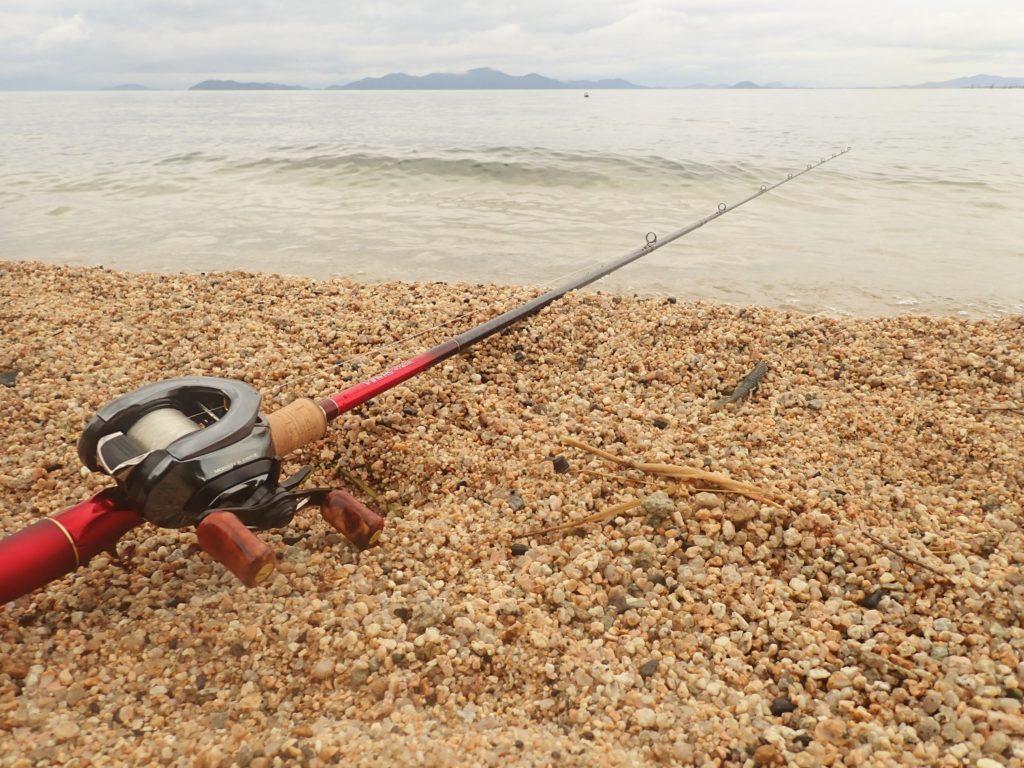 琵琶湖ウェーディング釣行 減水に苦戦の展開