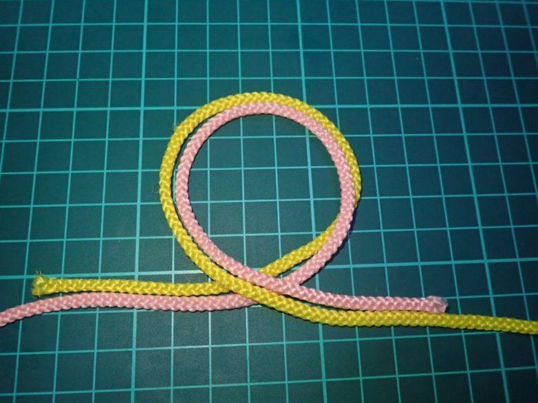 3.5ノットの結び方