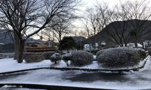 3月の芦ノ湖ボートルアー