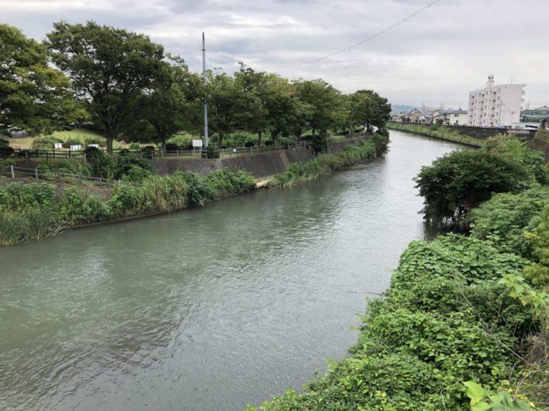 塩田川 合流 ポイント