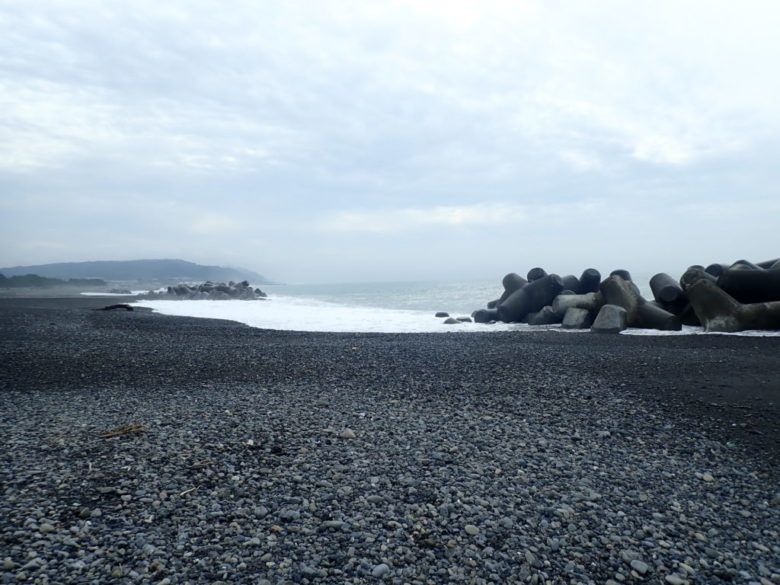 大浜海岸 釣り場風景