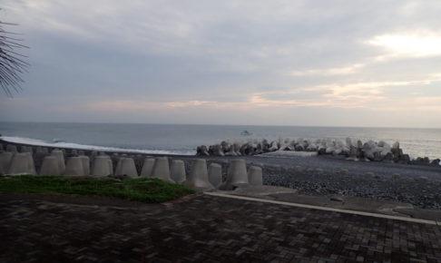 和田浜 釣り場風景