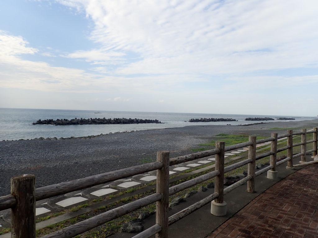 焼津 田尻浜 ディスカバリーパーク裏 釣り場