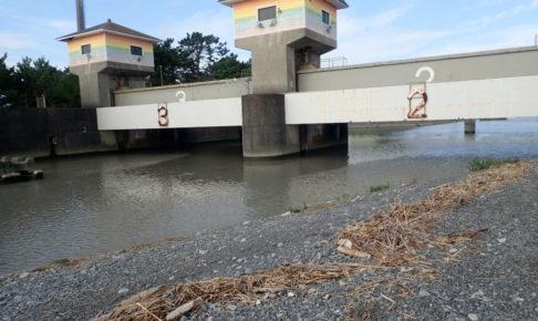 栃山川河口 釣り場 ポイント