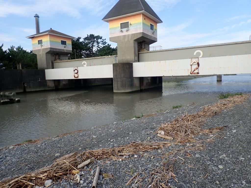 焼津 栃山川河口の釣り場・ポイントを解説!【釣れる魚・水深など】