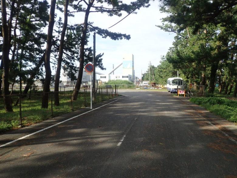 栃山川河口 駐車場