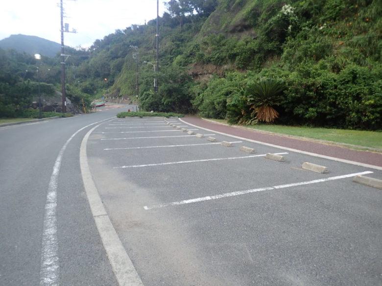 妻良 駐車場