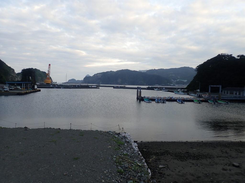 妻良港 釣り場