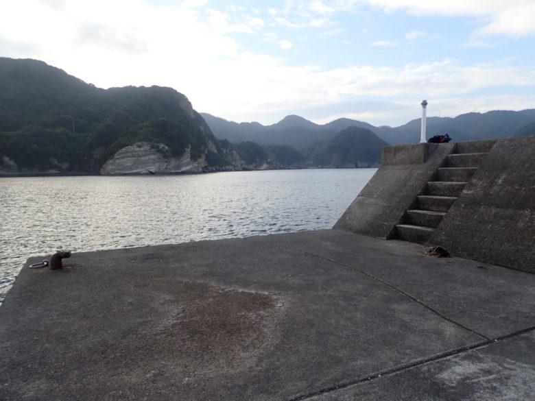 子浦港 釣り場