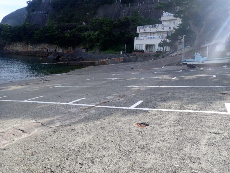 雲見 釣り場 駐車場