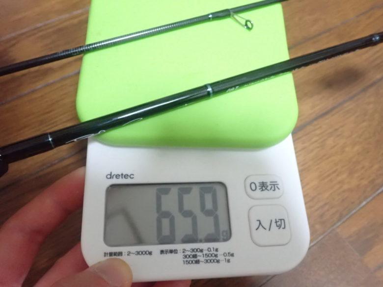 ブルーカレント68 重量