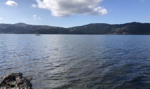 芦ノ湖 ウェーディング トラウト