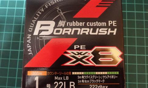ボーンラッシュWX8 インプレ