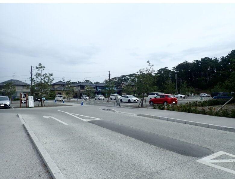 羽衣の松 駐車場