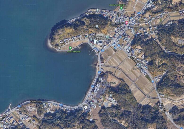 奥浜名湖 ローランド前 釣り場