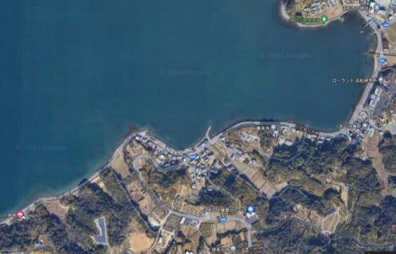奥浜名湖 伊奈 伊目 釣り場