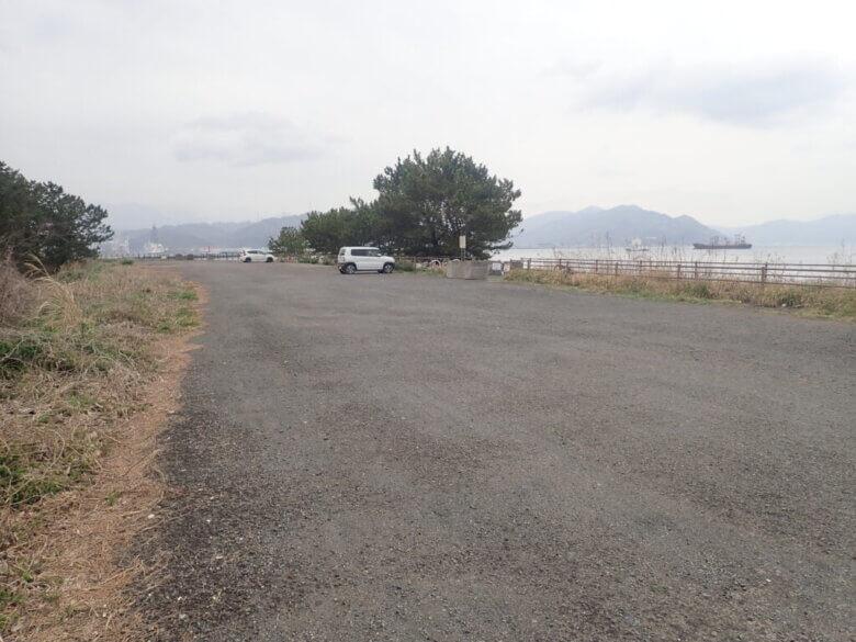 三保 飛行場前 駐車場