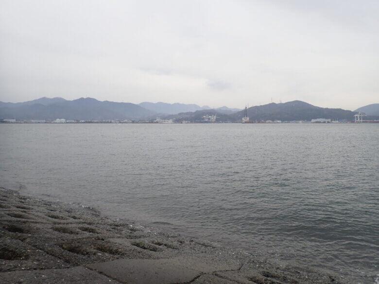 真崎海岸 水深
