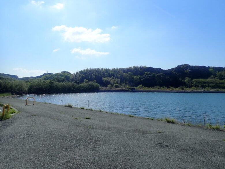 奥浜名湖 マイマイ 釣り場