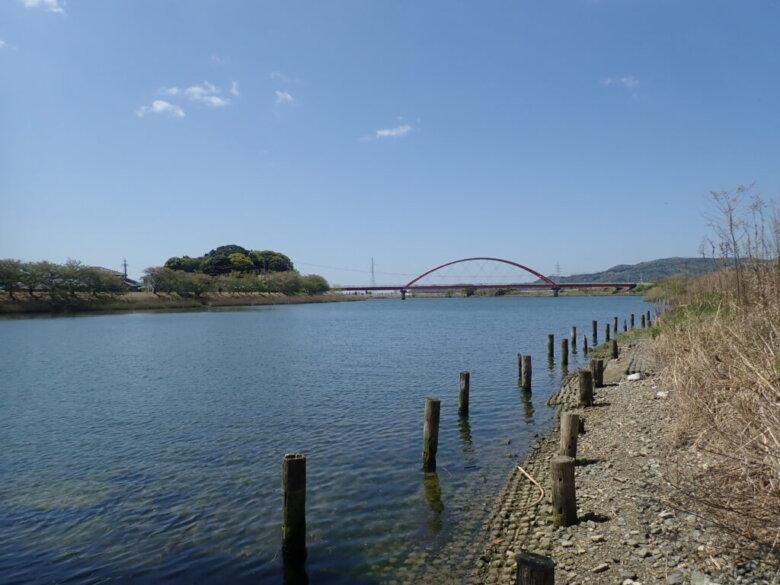 都田川 みおつくし橋 釣り場