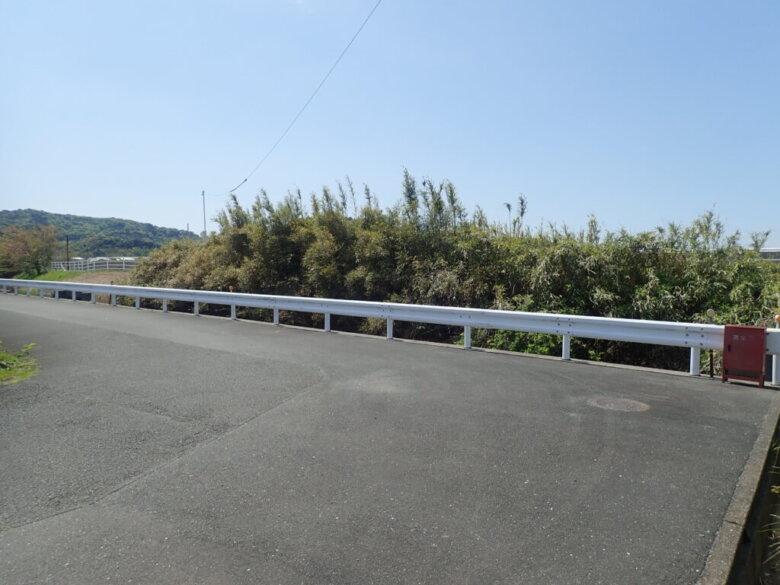 都田川 東岸 駐車場