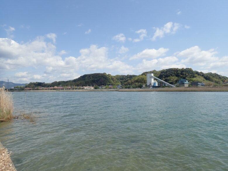 都田川 河口 西側