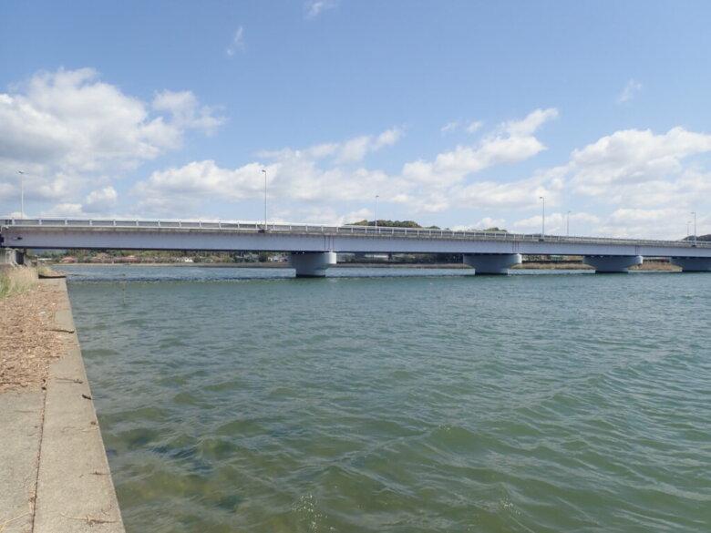細江大橋 下流側