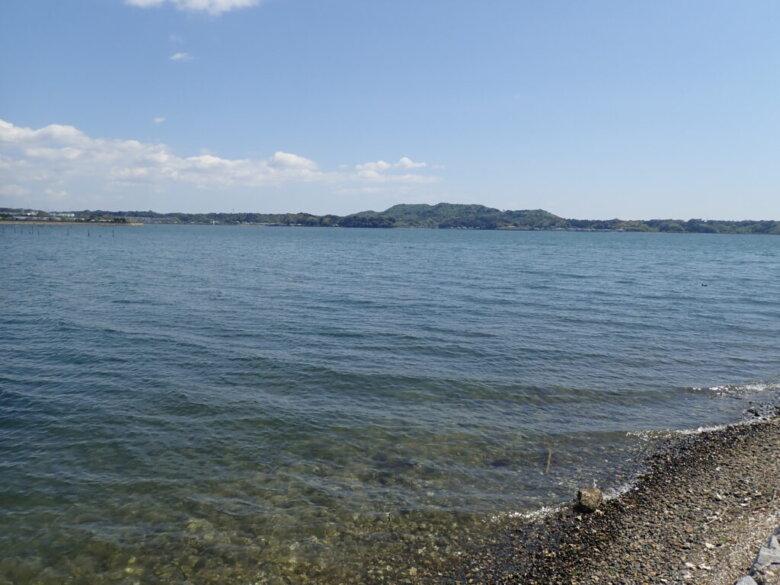 五味半島 先端東側 水深