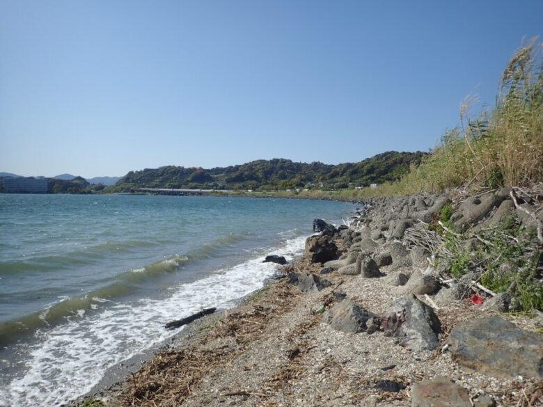 佐久米海岸 釣り場 ポイント