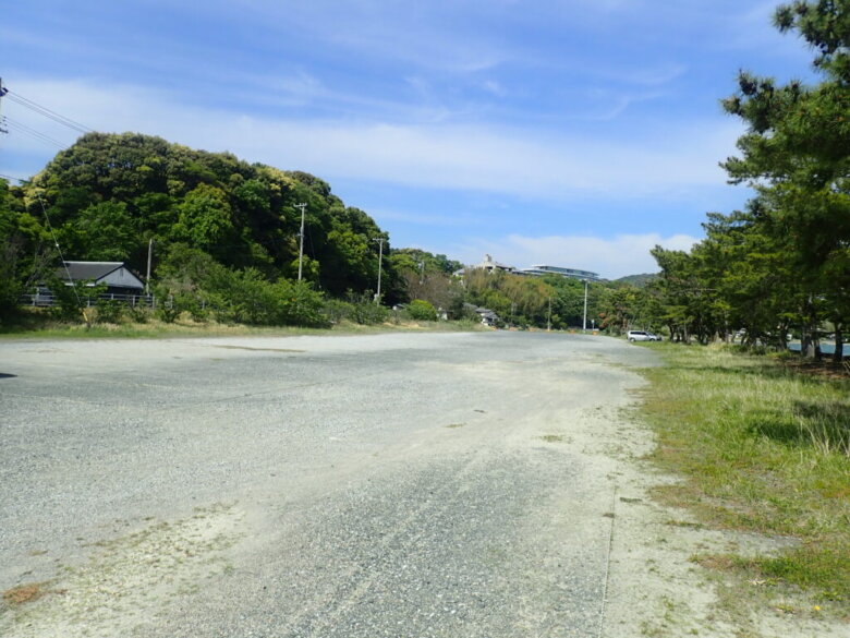都筑海岸 三ケ日青年の家周辺 駐車場