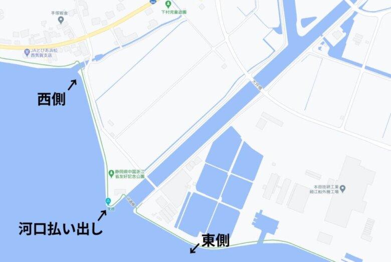 葭本川 河口 水深