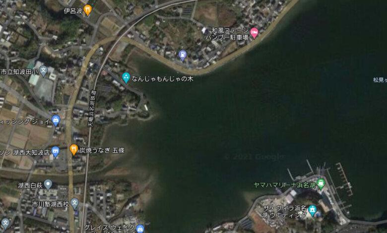 湖西 松見ヶ浦 大知波 釣り場 ポイント