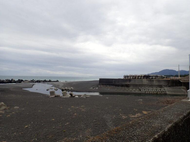 浜川河口 釣り場