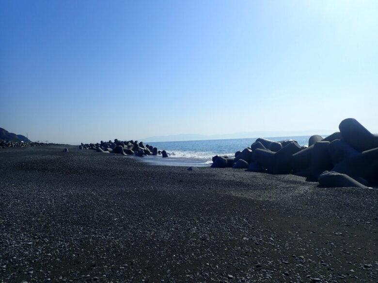 久能海岸 中平松 古宿 釣り場