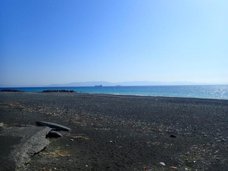 駒越中 釣り場