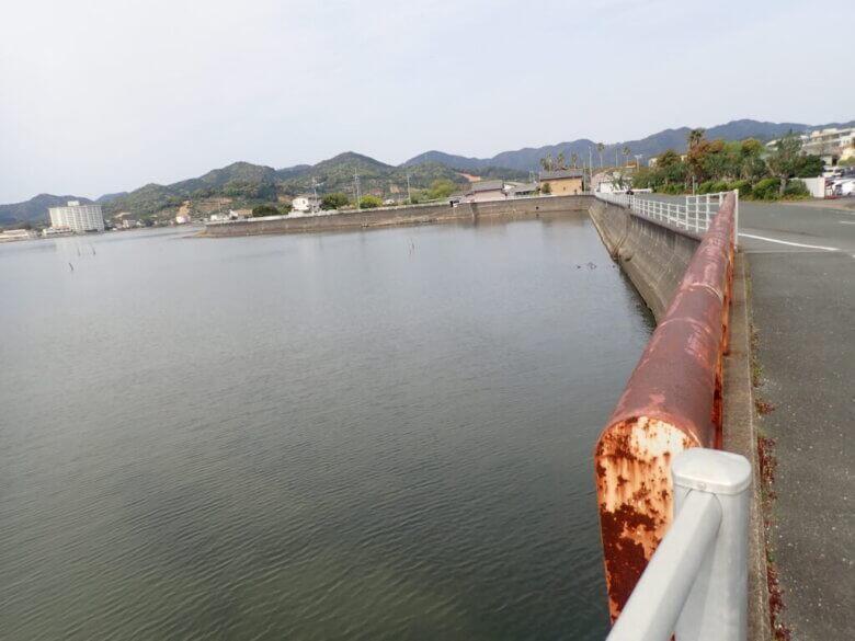 猪鼻湖 宇志 釣り場