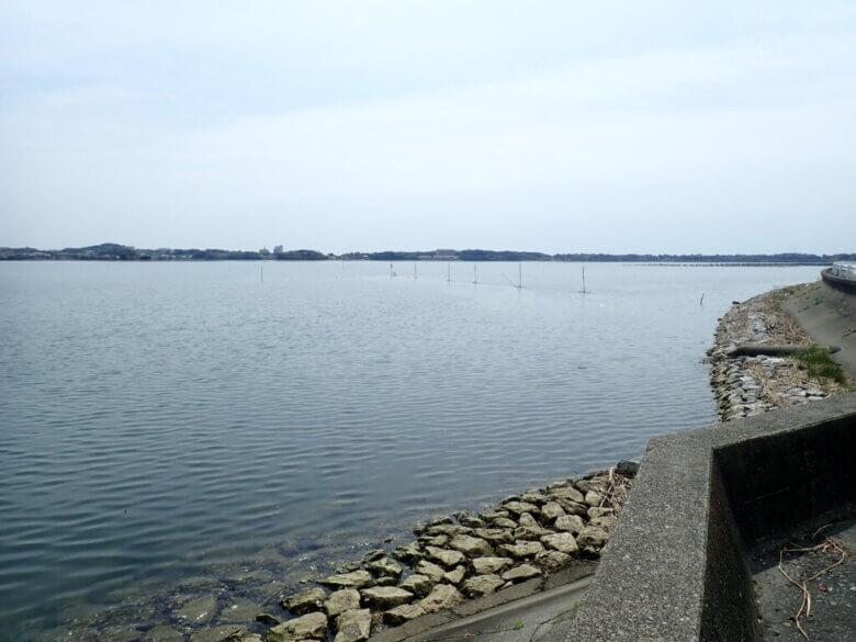 猪鼻湖 釣り場