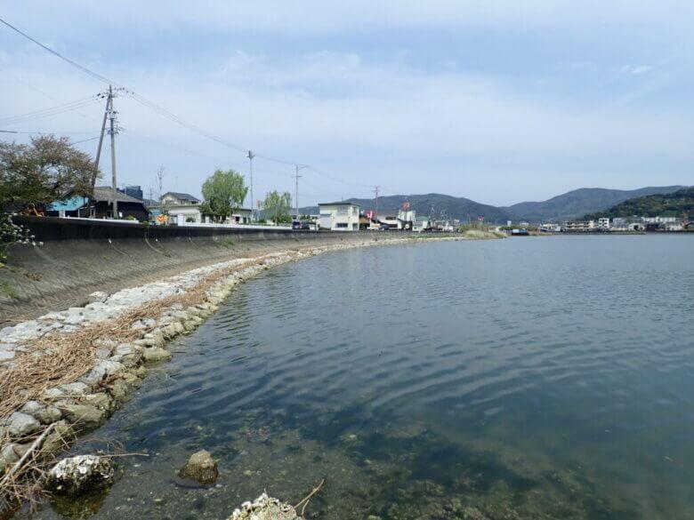 宇利山川 釣り場 猪鼻湖