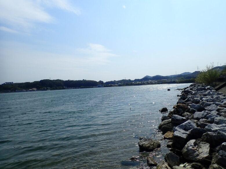 湖西 利木 釣り場