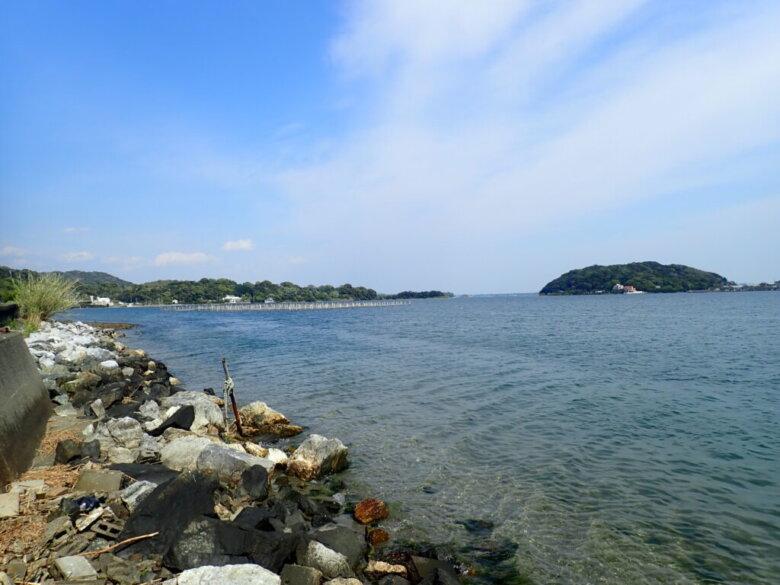 チニング 釣り場風景