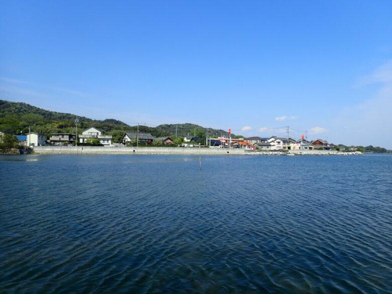 大知波 釣り場