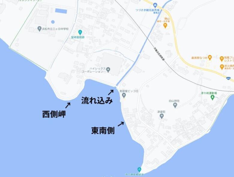 宇志 ポイント 水深 地形