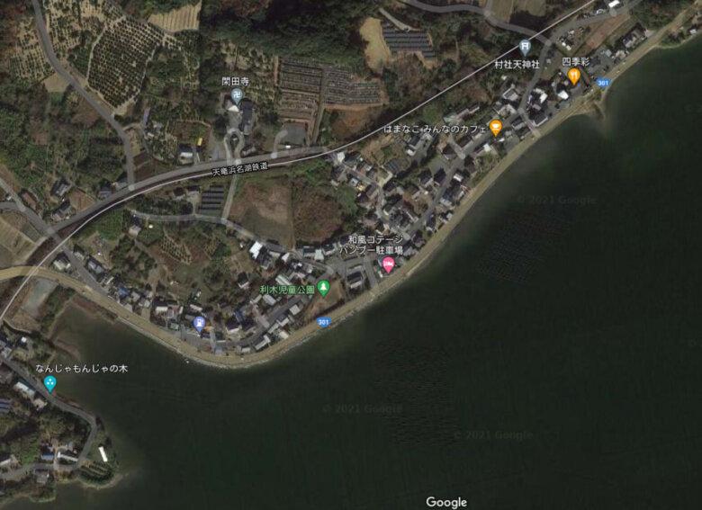 浜名湖 松見ヶ浦 湖西 利木 釣り場