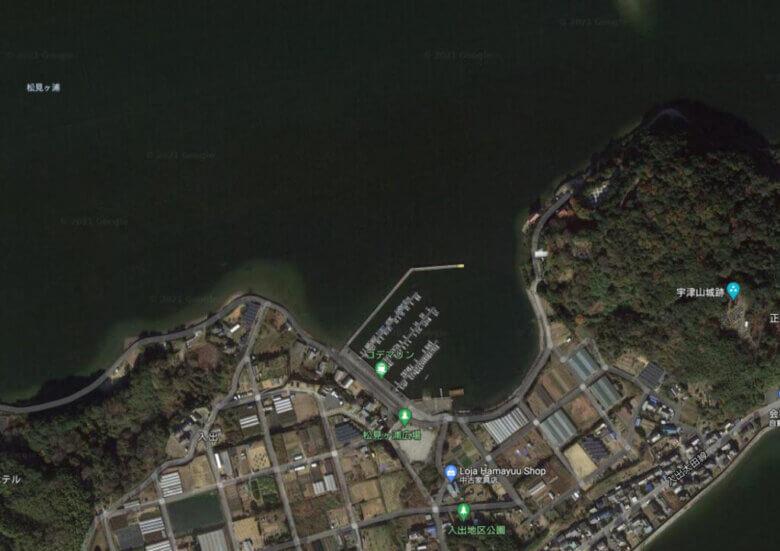 浜名湖 入出 釣り