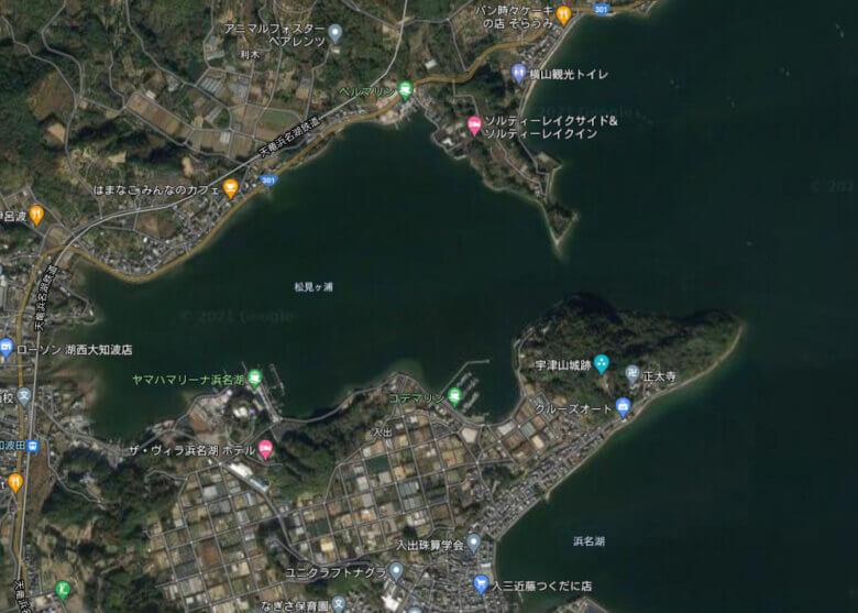 松見ヶ浦 釣り場