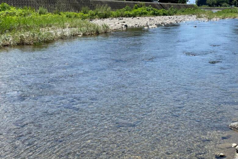 川 ウキ釣り 釣り場