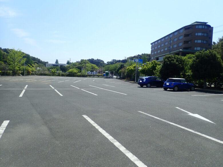舘山寺 駐車場