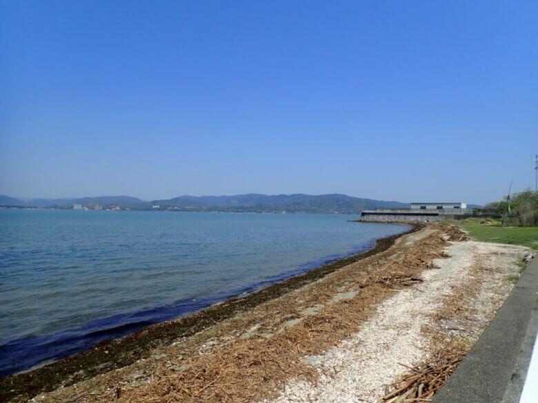 内山海岸 釣り場